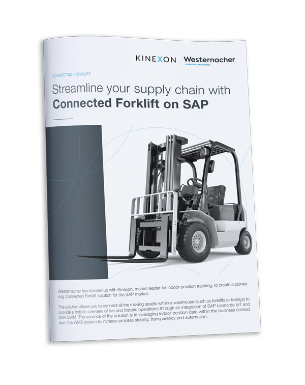Westernacher One pager: Streamline your supply chain with Connected Forklift on SAP