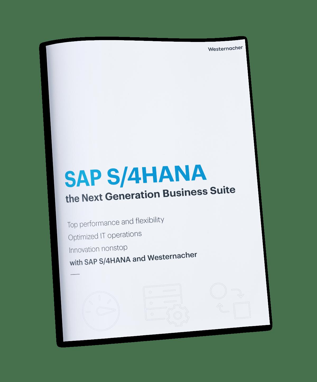 SAP S/4HANA - the next generation business suite - brochure