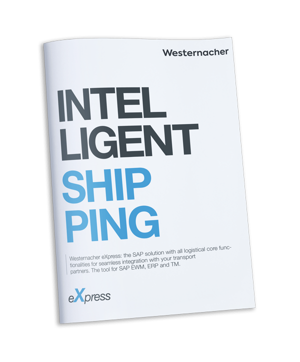 Intelligent shipping: Carrier integration with SAP Add-on Westernacher eXpress - brochure