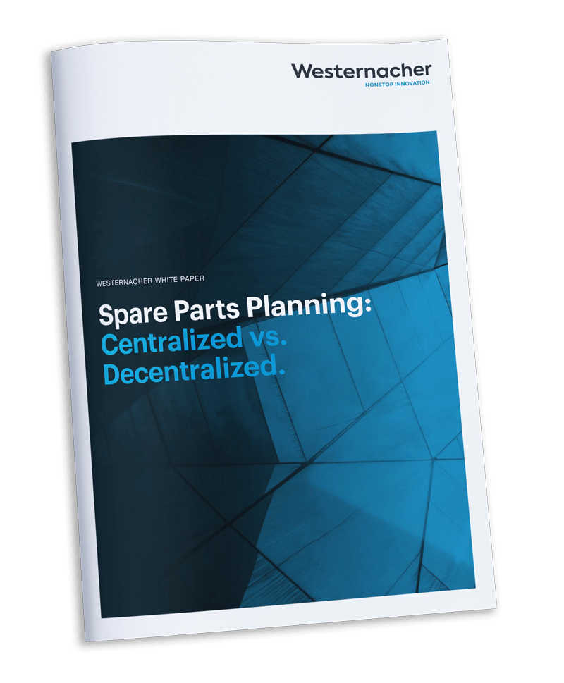 Westernacher white paper - Spare Parts Planning: Centralized vs. Decentralized