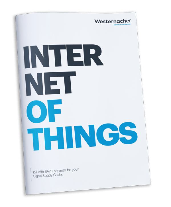 Internet of Things - IoT with SAP Leonardo for your digital supply chain - brochure