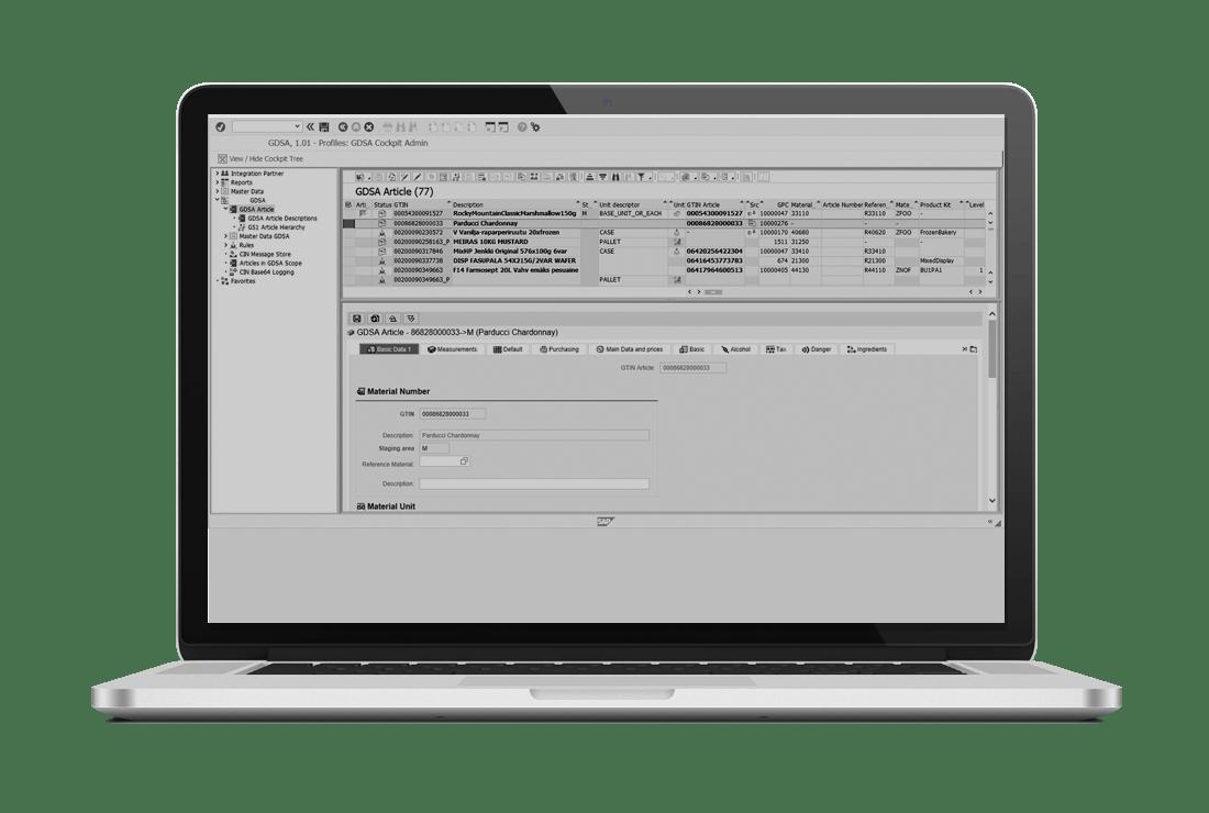 Master Data Management MDI GDS tool for SAP ECC and S/4HANA with Westernacher