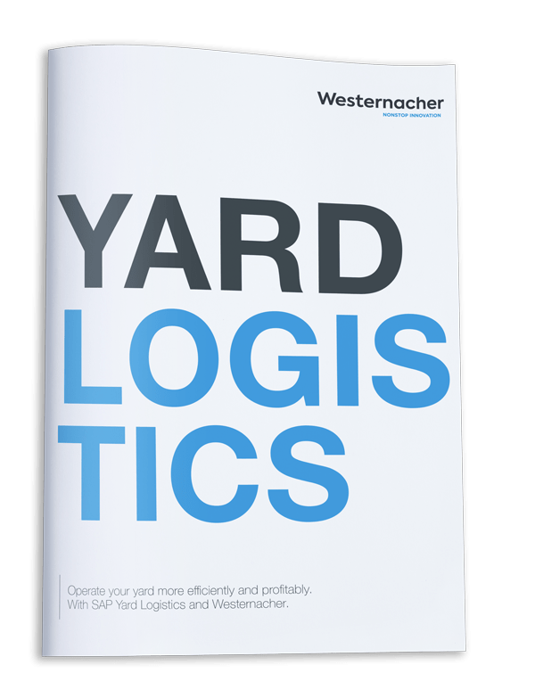 Download your brochure: Operate your yard more efficiently and profitably. With SAP Yard Logistics and Westernacher.